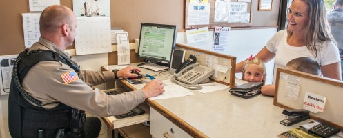 front desk assistance