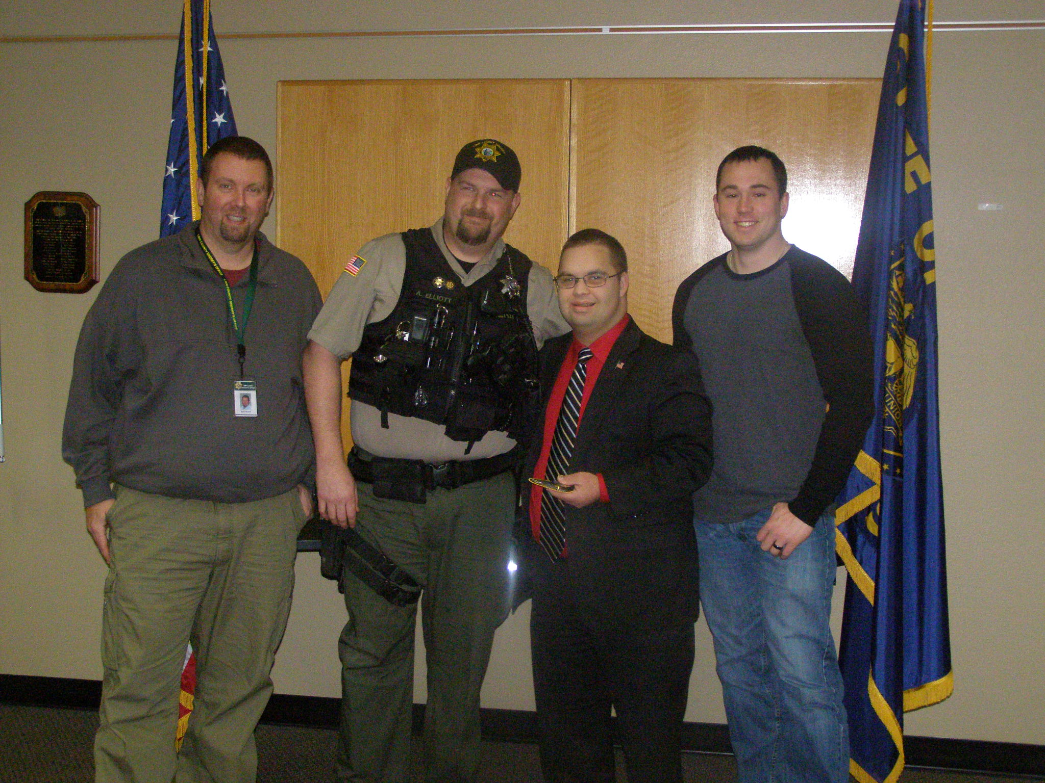Linn County Sheriff's Office Shows their Appreciation for