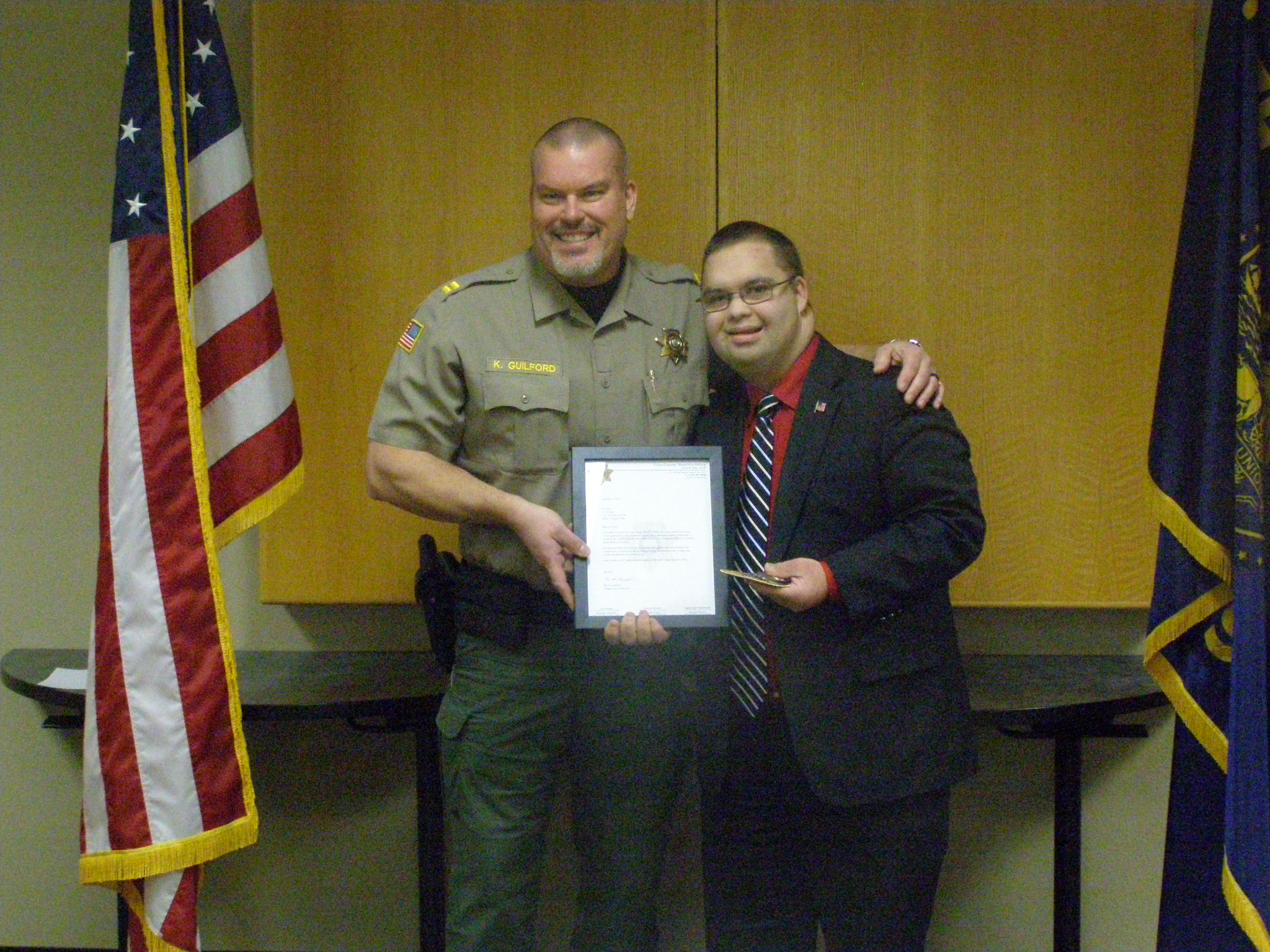 Linn County Sheriff U0026 39 S Office Shows Their Appreciation For