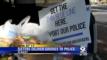 Treats for Sheriff's Deputies