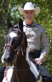 Sheriff Riley on Horse